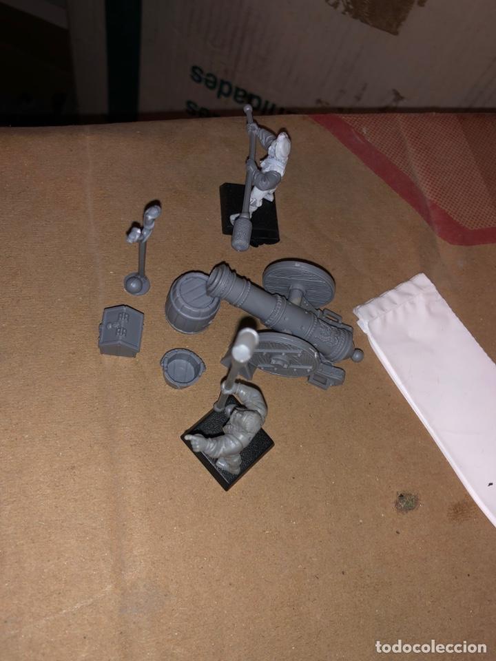 Juegos Antiguos: Pack mini artillería warhammer imperio 3 - Foto 2 - 167077137