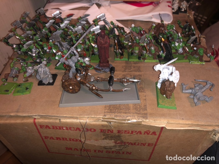PACK EJÉRCITO DE ORCOS WARHAMMER 2002 (Juguetes - Rol y Estrategia - Warhammer)