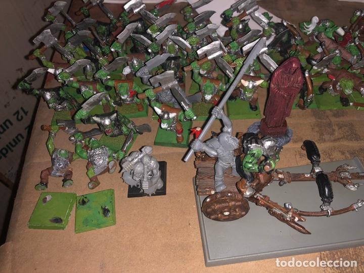 Juegos Antiguos: Pack ejército de ORCOS warhammer 2002 - Foto 3 - 167077245