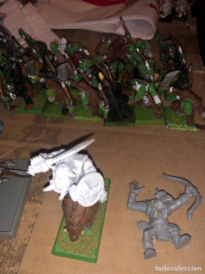 Juegos Antiguos: Pack ejército de ORCOS warhammer 2002 - Foto 4 - 167077245