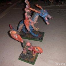 Juegos Antiguos: PACK FIGURAS PLOMO WARHAMMER 2002. Lote 167183610