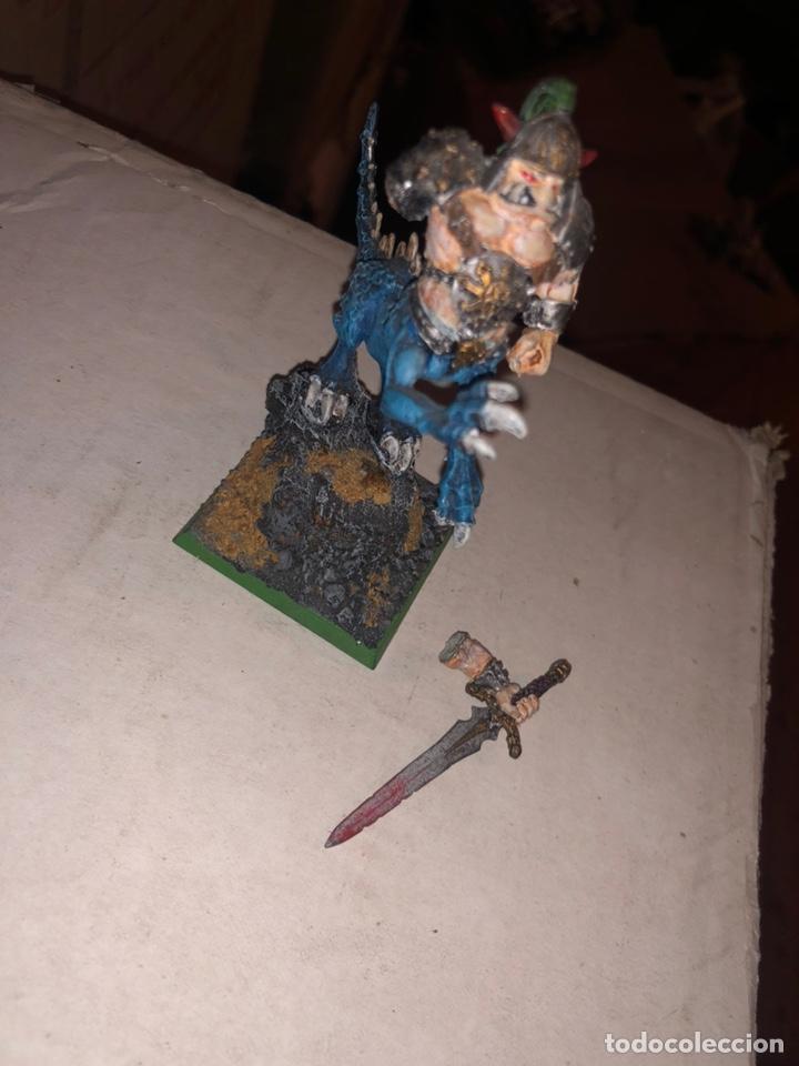 Juegos Antiguos: Ogro dragón warhammer caos 2002 plomo - Foto 2 - 167183988