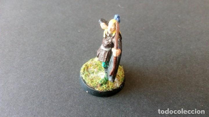 Juegos Antiguos: LOTE FIGURA LEGOLAS PLOMO SEÑOR DE LOS ANILLOS RETORNO DEL REY TERCERA EDAD WARHAMMER WORKSHOP - Foto 2 - 168210808