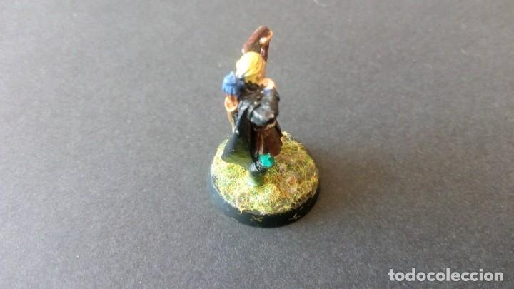 Juegos Antiguos: LOTE FIGURA LEGOLAS PLOMO SEÑOR DE LOS ANILLOS RETORNO DEL REY TERCERA EDAD WARHAMMER WORKSHOP - Foto 4 - 168210808