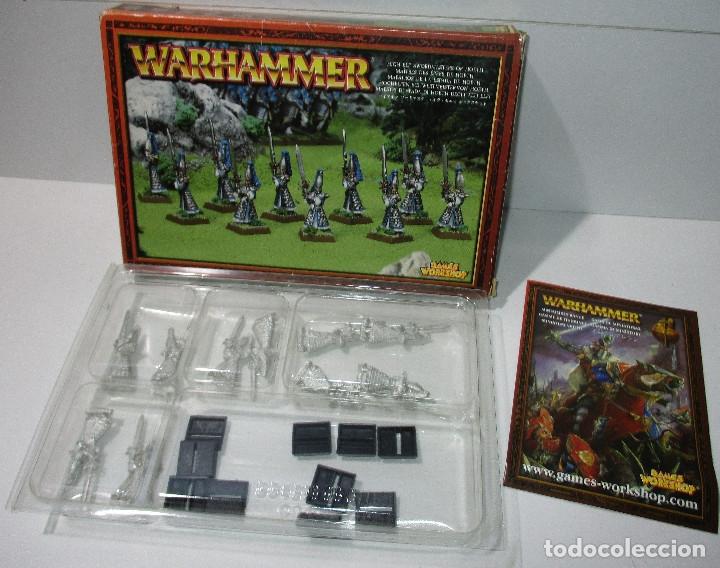 WARHAMMER - HIGH ELF SWORDMASTERS OT HOETH - MAESTROS DE LA ESPADA DE HOETH - METAL (Juguetes - Rol y Estrategia - Warhammer)