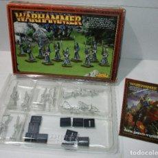Juegos Antiguos: WARHAMMER - HIGH ELF SWORDMASTERS OT HOETH - MAESTROS DE LA ESPADA DE HOETH - METAL. Lote 171270859