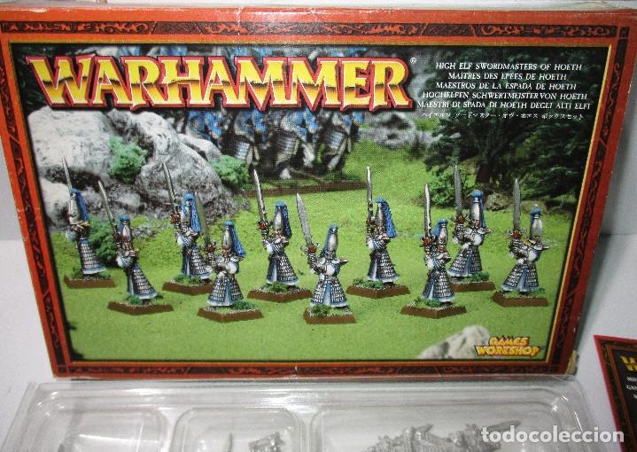 Juegos Antiguos: Warhammer - HIGH ELF SWORDMASTERS OT HOETH - MAESTROS DE LA ESPADA DE HOETH - Metal - Foto 2 - 171270859