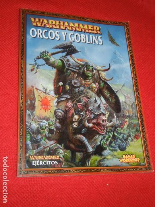 ORCOS Y GOBLINS. WARHAMMER. 2000 GAMES WORKSHOP - LIBRO DE ROL ESTRATEGIA 2006 (Juguetes - Rol y Estrategia - Warhammer)