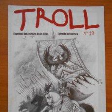 Juegos Antiguos: TROLL Nº 19 - GAMES WORKSHOP - REVISTA WARHAMMER (AM). Lote 171613448