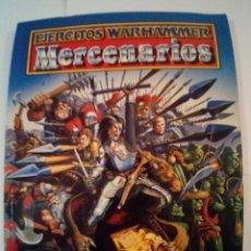 Juegos Antiguos: CODEX EJERCITOS WARHAMMER MERCENARIOS-VER FOTOS. Lote 171715414