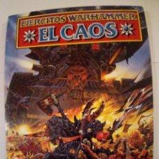 Juegos Antiguos: CODEX EJERCITOS WARHAMMER EL CAOS-VER FOTOS. Lote 171715715