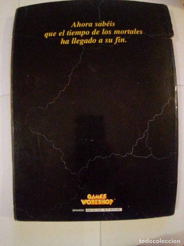 Juegos Antiguos: WARHAMMER REINO DEL CAOS - Foto 2 - 171716377
