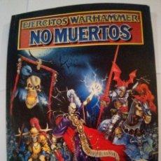 Juegos Antiguos: EJERCITOS WARHAMMER NO MUERTO. Lote 171716435