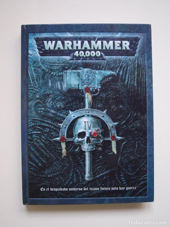 WARHAMMER 40,000 - 40000 - 40K - LIBRO REGLAMENTO DE 2004 Y 270 PÁGINAS - GAMES WORKSHOP (Juguetes - Rol y Estrategia - Warhammer)