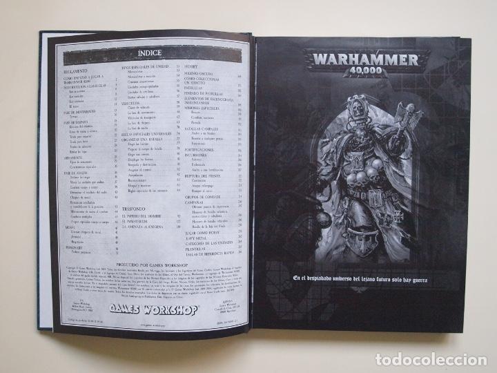 Juegos Antiguos: WARHAMMER 40,000 - 40000 - 40K - LIBRO REGLAMENTO DE 2004 Y 270 PÁGINAS - GAMES WORKSHOP - Foto 3 - 172020712