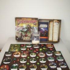 Juegos Antiguos: WARHAMMER DISKWARS LEGIONS OF DARKNESS EXPANSION. Lote 172172657
