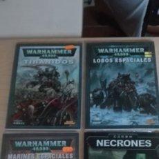 Juegos Antiguos: LOTE 4 CODEX WARHAMMER 40000. Lote 172366604