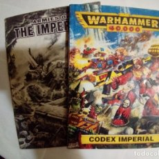 Juegos Antiguos: LOTE WARHAMMER 40.000 CODEX IMPERIAL+ARMIES OF THE IMPERIUM. Lote 172374213