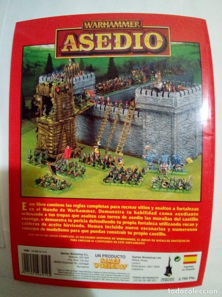 Juegos Antiguos: LOTE DE 4 CODEX WARHAMMER ASEDIO+REYES FUNERARIOS+BRETONIA+LA SOMBRA SOBRE ALBION-COMO NUEVOS - Foto 3 - 172374333