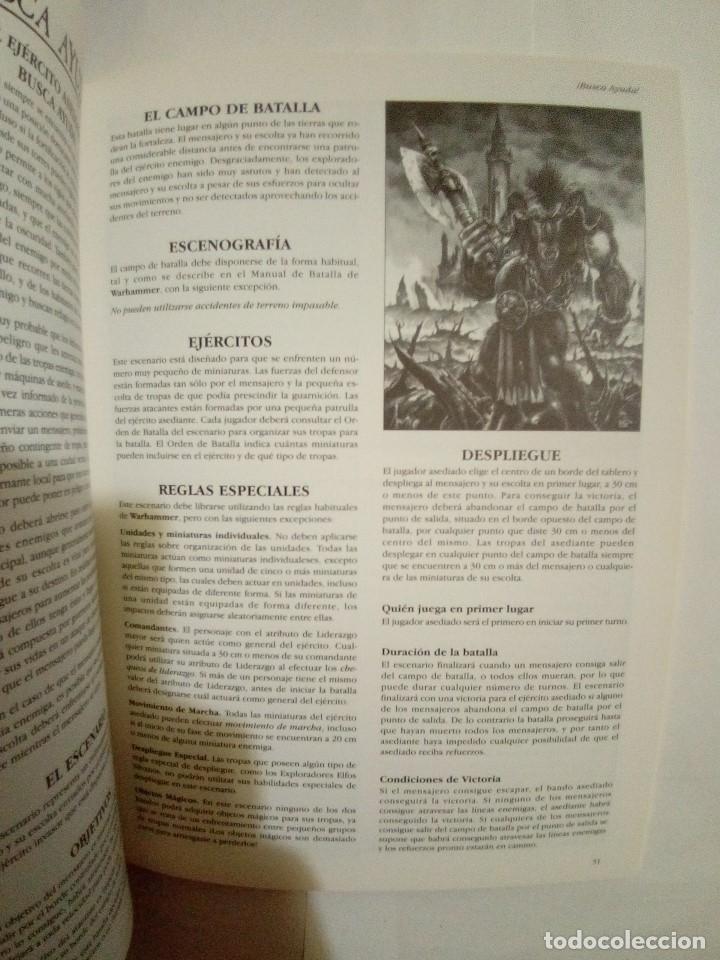 Juegos Antiguos: LOTE DE 4 CODEX WARHAMMER ASEDIO+REYES FUNERARIOS+BRETONIA+LA SOMBRA SOBRE ALBION-COMO NUEVOS - Foto 5 - 172374333