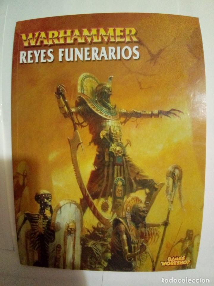 Juegos Antiguos: LOTE DE 4 CODEX WARHAMMER ASEDIO+REYES FUNERARIOS+BRETONIA+LA SOMBRA SOBRE ALBION-COMO NUEVOS - Foto 6 - 172374333
