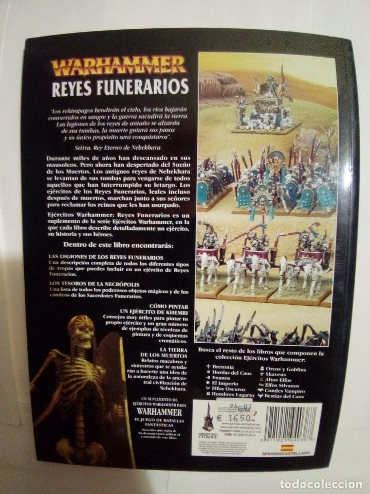 Juegos Antiguos: LOTE DE 4 CODEX WARHAMMER ASEDIO+REYES FUNERARIOS+BRETONIA+LA SOMBRA SOBRE ALBION-COMO NUEVOS - Foto 7 - 172374333