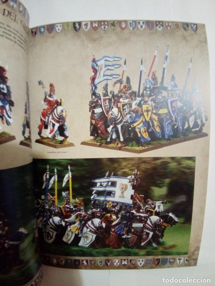Juegos Antiguos: LOTE DE 4 CODEX WARHAMMER ASEDIO+REYES FUNERARIOS+BRETONIA+LA SOMBRA SOBRE ALBION-COMO NUEVOS - Foto 13 - 172374333