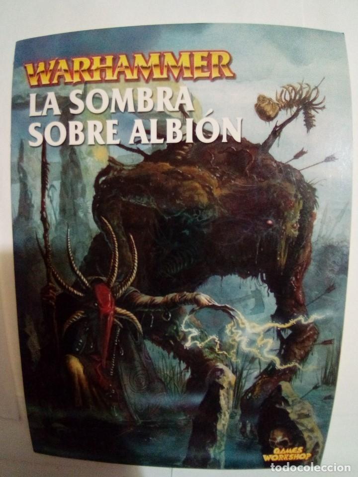 Juegos Antiguos: LOTE DE 4 CODEX WARHAMMER ASEDIO+REYES FUNERARIOS+BRETONIA+LA SOMBRA SOBRE ALBION-COMO NUEVOS - Foto 14 - 172374333