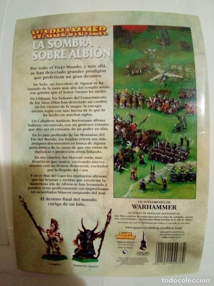 Juegos Antiguos: LOTE DE 4 CODEX WARHAMMER ASEDIO+REYES FUNERARIOS+BRETONIA+LA SOMBRA SOBRE ALBION-COMO NUEVOS - Foto 15 - 172374333