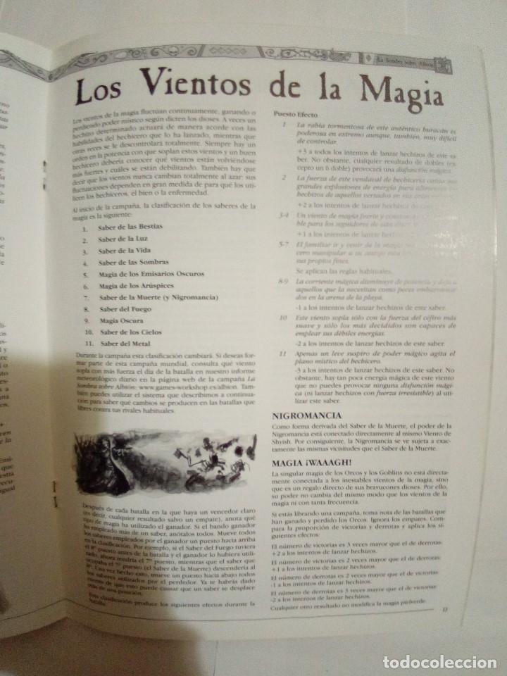 Juegos Antiguos: LOTE DE 4 CODEX WARHAMMER ASEDIO+REYES FUNERARIOS+BRETONIA+LA SOMBRA SOBRE ALBION-COMO NUEVOS - Foto 16 - 172374333