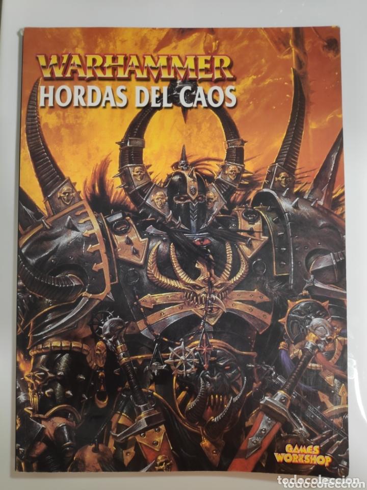 CODEX HORDAS DEL CAOS WARHAMMER-GAMES WORKSHOP (Juguetes - Rol y Estrategia - Warhammer)