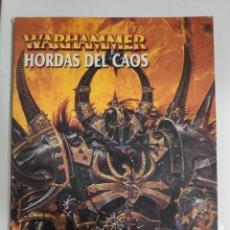 Juegos Antiguos: CODEX HORDAS DEL CAOS WARHAMMER-GAMES WORKSHOP. Lote 172587967