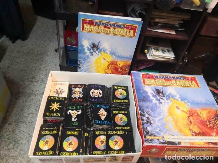 SUPLEMENTO DE MAGIA PARA WARHAMMER EL JUEGO DE BATALLAS FANTÁSTICAS AÑO 1994 GAMES WORKSHOP (Juguetes - Rol y Estrategia - Warhammer)