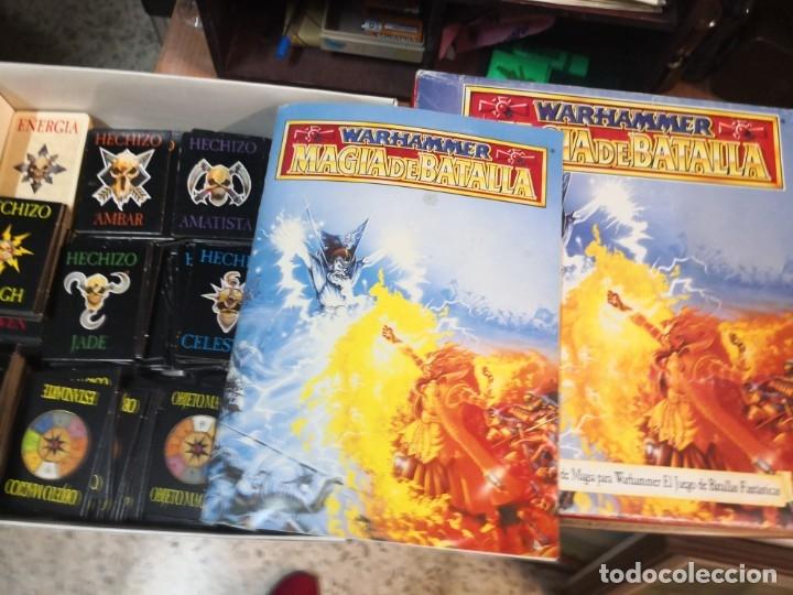Juegos Antiguos: SUPLEMENTO DE MAGIA PARA WARHAMMER EL JUEGO DE BATALLAS FANTÁSTICAS AÑO 1994 GAMES WORKSHOP - Foto 3 - 173079754