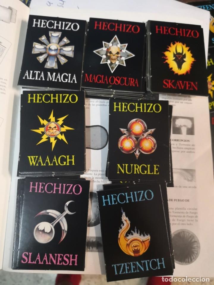 Juegos Antiguos: SUPLEMENTO DE MAGIA PARA WARHAMMER EL JUEGO DE BATALLAS FANTÁSTICAS AÑO 1994 GAMES WORKSHOP - Foto 4 - 173079754