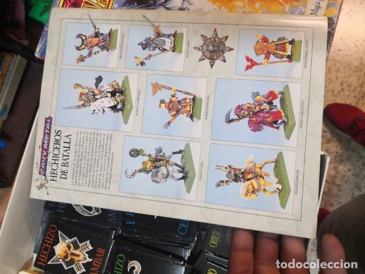 Juegos Antiguos: SUPLEMENTO DE MAGIA PARA WARHAMMER EL JUEGO DE BATALLAS FANTÁSTICAS AÑO 1994 GAMES WORKSHOP - Foto 5 - 173079754