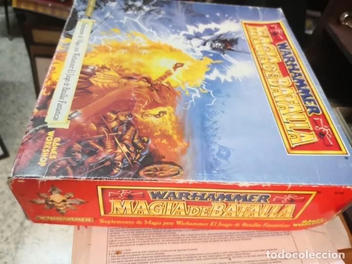 Juegos Antiguos: SUPLEMENTO DE MAGIA PARA WARHAMMER EL JUEGO DE BATALLAS FANTÁSTICAS AÑO 1994 GAMES WORKSHOP - Foto 8 - 173079754
