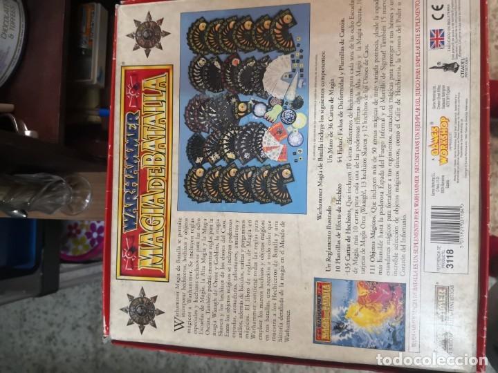 Juegos Antiguos: SUPLEMENTO DE MAGIA PARA WARHAMMER EL JUEGO DE BATALLAS FANTÁSTICAS AÑO 1994 GAMES WORKSHOP - Foto 9 - 173079754