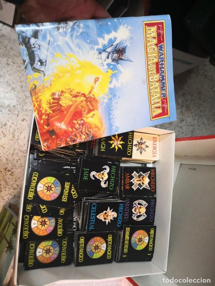 Juegos Antiguos: SUPLEMENTO DE MAGIA PARA WARHAMMER EL JUEGO DE BATALLAS FANTÁSTICAS AÑO 1994 GAMES WORKSHOP - Foto 17 - 173079754