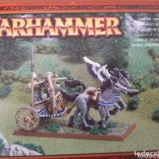 Juegos Antiguos: WARHAMMER CARRO ELFO. Lote 173793962