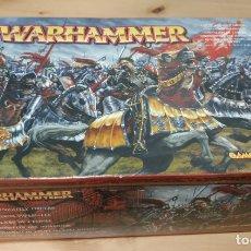 Juegos Antiguos: WARHAMMER FANTASY CABALLEROS IMPERIALES MUCHAS PIEZAS. Lote 174045564
