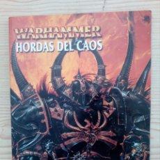 Juegos Antiguos: WARHAMMER - HORDAS DEL CAOS. Lote 174162575