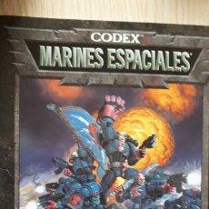 Juegos Antiguos: CODEX MARINES ESPACIALES. Lote 174438253