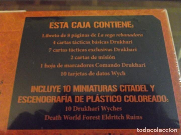 Juegos Antiguos: Caja de inicio Killteam Drukhari - Eldars oscuros warhammer 40000 - Foto 3 - 174983845
