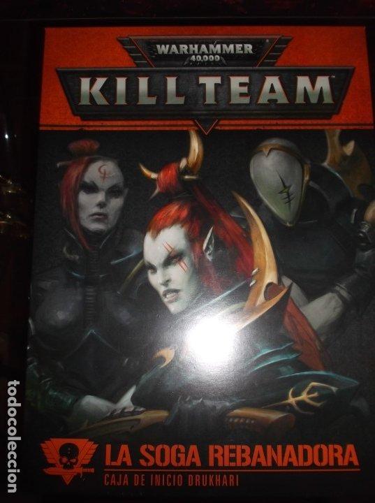 Juegos Antiguos: Caja de inicio Killteam Drukhari - Eldars oscuros warhammer 40000 - Foto 4 - 174983845