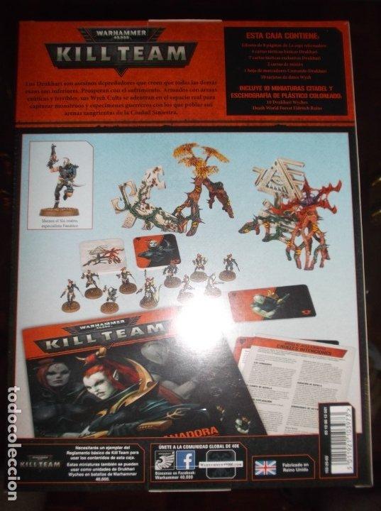Juegos Antiguos: Caja de inicio Killteam Drukhari - Eldars oscuros warhammer 40000 - Foto 2 - 174983845