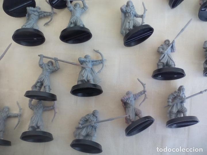 Juegos Antiguos: LOTE DE 23 GUERREROS, SOLDADOS EL SEÑOR DE LOS ANILLOS. WARHAMMER. . LORD OF THE RING - Foto 2 - 175466658