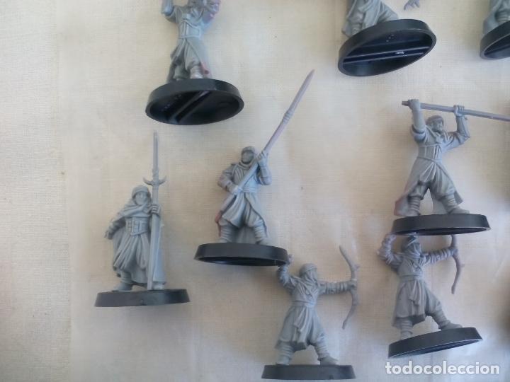 Juegos Antiguos: LOTE DE 23 GUERREROS, SOLDADOS EL SEÑOR DE LOS ANILLOS. WARHAMMER. . LORD OF THE RING - Foto 4 - 175466658