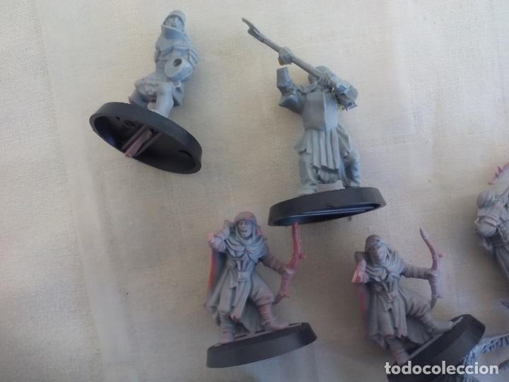 Juegos Antiguos: LOTE DE 23 GUERREROS, SOLDADOS EL SEÑOR DE LOS ANILLOS. WARHAMMER. . LORD OF THE RING - Foto 5 - 175466658