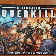 Juegos Antiguos: DEATHWATCH OVERKILL WARHAMMER 40000 . KILL TEAM CASIUS CONTRA GENESTEALER.. Lote 176213303